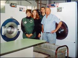 Tom Turley, Jean Turley, Jill Turley, Lee Turley, Five Corners Cleaners