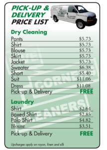 2021 Price List